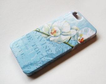 SALE!! Blue Orchid iPhone 5/5S Case