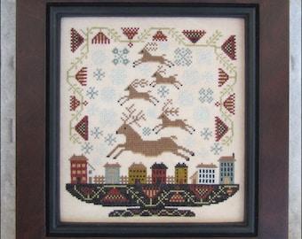 Reindeer Games Cross Stitch Pattern
