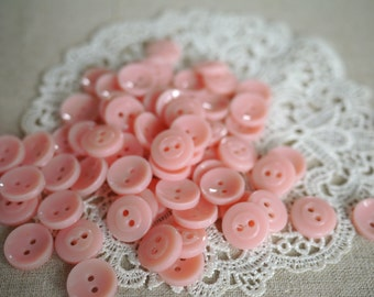 Vintage - Sweet Pink Buttons