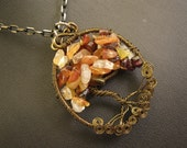 Tree of Life Pendant - Your Choice of Stone