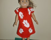 Lilo Dress for American Girl or Bitty Baby