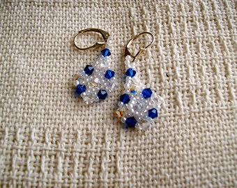 Crystal Collar Earrings