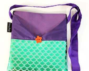 Little Mermaid Ariel inspired Bag-autograph book bag