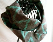 Toddler Ikat Cotton Infinity Scarf