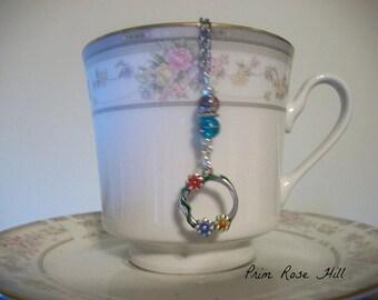 FLOWER wreath ring Teaball Infuser