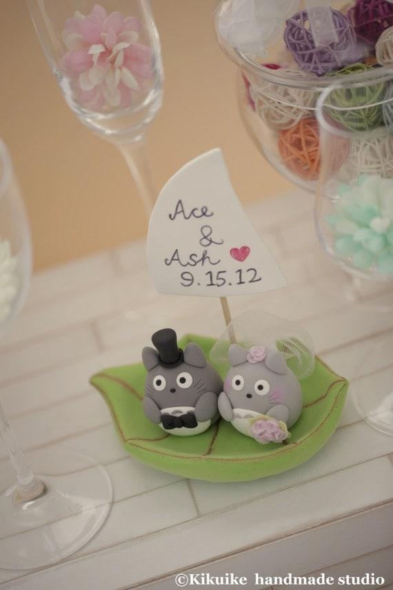 How To Make Totoro Cake Topper