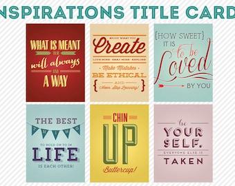 my life 365 - inspirations life project pocket journaling cards - digital scrapbooking