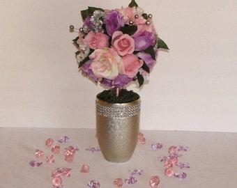 Wedding centerpiece flower ball Topiary Wedding Flower Decoration wedding table decoration silk flower centerpiece silk flower arrangement