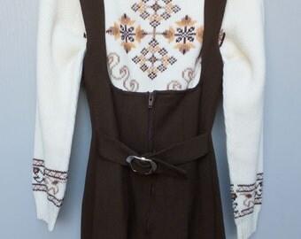 Vintage Ski Sweater by Zado of California