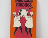 Fabulous Fondues Cookbook 1970 Peter Pauper Press book