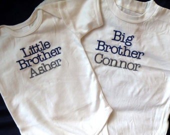 Big and Little Brother Monogrammed Set