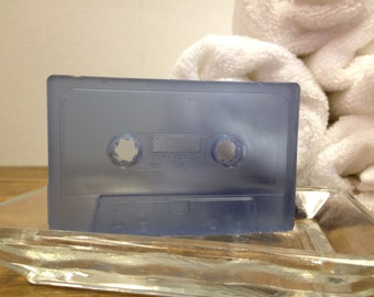 cassette soap purple