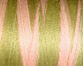 Valdani VTV50-M63 Variegated Cotton Thread 50wt 547yd Early Spring