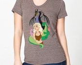 Mother of Dragons Women's Tee Shirt - Brown - Game of Thrones Khaleesi Parody