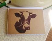 Farm Cards, Rustic Farmhouse Cards, Cow Cards, Set of 10