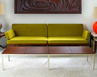 Early Florence Knoll T Angle Coffee Table Bench Vintage Mid Century Modern