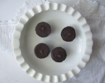 Vintage Sale Fenton Milk Glass Hobnail Large Ashtray/Bowl