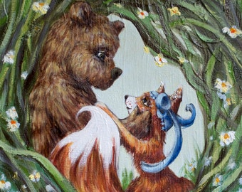 Fox & Bear - Custom Couple's Gift