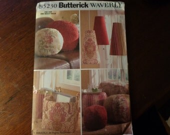 Butterick 5230 home accessories pattern