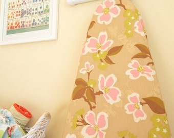 Ironing Board Cover - Dogwood Floral in pink