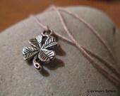 Good Luck Clover Charm Dream it, Wish it, Wear it Bracelet/Anklet by Carmen Bowe