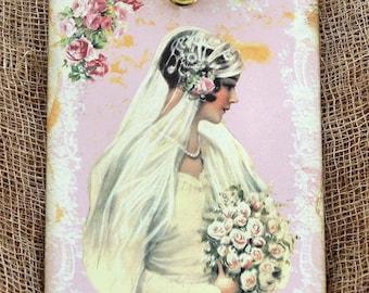 Victorian Bride Wedding Tags #508