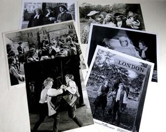 TOM JONES Lot of 6 Film Stills 8 x 10 1963 Movie Albert Finney David Warner Susannah York Photographs Glossy