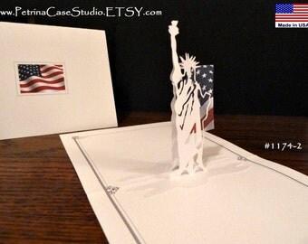 Statue of Liberty... Patriotic USA Symbol Intricate Details- Item 1174