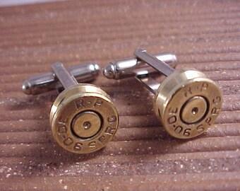 Bullet Cufflinks / 30-06 Rifle Cuff Links / Wedding Cufflinks / Groomsmen Gift / Sportsman Gift / Fathers Day Gift / Gifts For Men