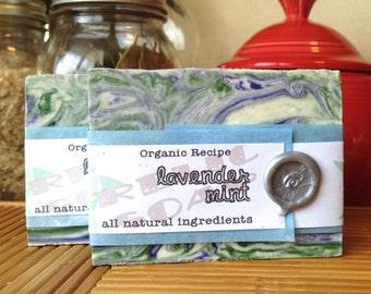 Lavender Mint Organic Artisan Soap