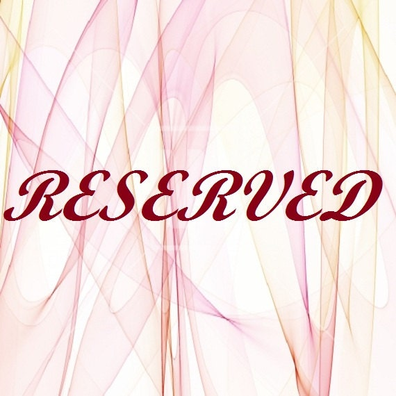 RESERVED for JONE