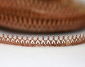 """12"""" Copper Banding - Crown Metal Strip Gallery Wire 3280"""