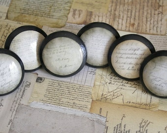 Vintage Knobs The Vintage Script Door Pull Set of 8