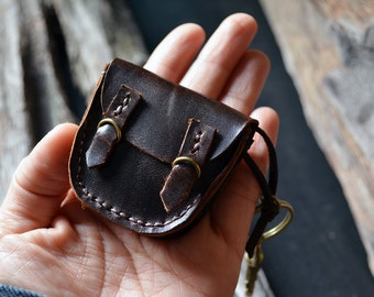 Gift for Mother's Day MiniBooks in a little Briefcase Dark Brown leather.