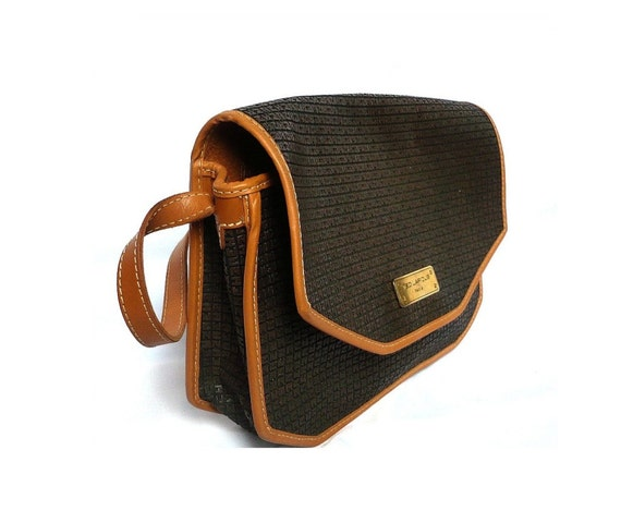 TED LAPIDUS Monogram Satchel / Shoulder Bag