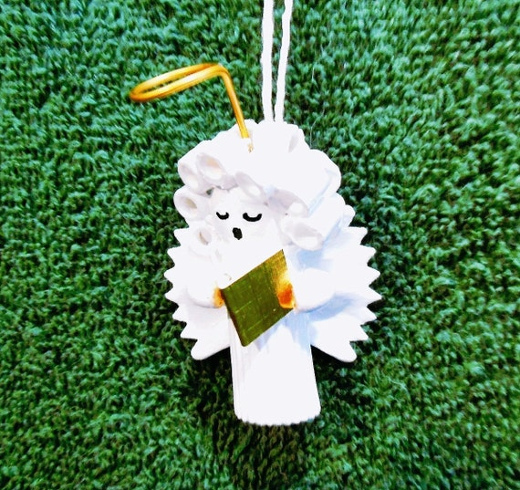 Items Similar To Three Pasta Angel Christmas Ornaments On Etsy