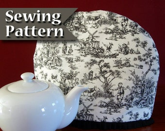 Tea cozy pattern | Tea cosy Sewing pattern | PDF sewing pattern | DIY | Teapot cozy | Instant download pattern | Tea pot cosy | Tea warmer