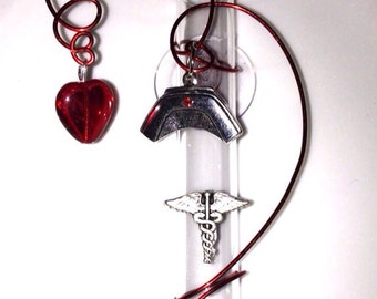 Nurse Hanging Vase Glass Rooting Vases Suction Cup Window Vases Free Shipping to US Customize