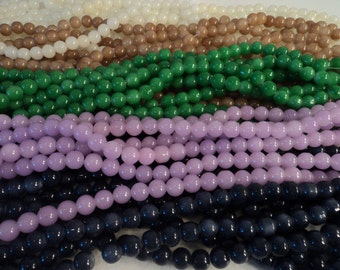 Glass Bead Mix III - 4 strands - 10mm