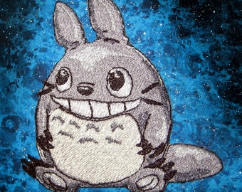 Totoro  Iron on Patch ready to ship