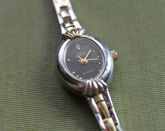 Vintage Watch SARAH COVENTRY Silver and Gold