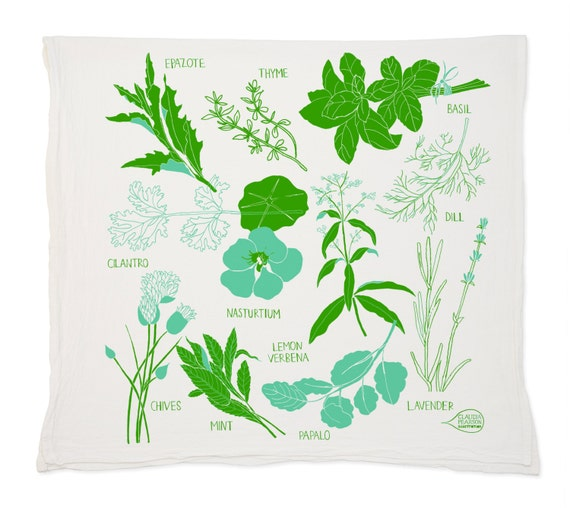 Herb Tea Towel