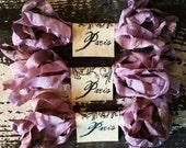 Seam Binding Ribbon - Hand Dyed - Violette (SBHD)