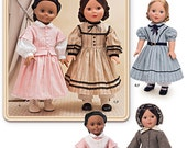 DOLL CLOTHES PATTERN / Make Civil War Era Outfits / Fits American Girl - 18 Inch Dolls