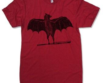 Men's BATS t shirt american apparel S M L XL (17 Color Options)