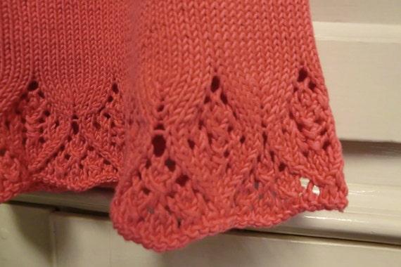 Lace Yoke Knitting Pattern : Baby Dress Knitting Pattern with Lace Yoke, Meredith Baby ...