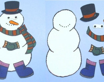 Frosty the Snowman  Felt / Flannel Board Set
