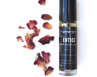 Entice- Sensual all natural roll-on essential oil perfume