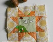 Five tiny blocks tutorial pack. TKF patterns and tutorials. TKF patchwork essentials