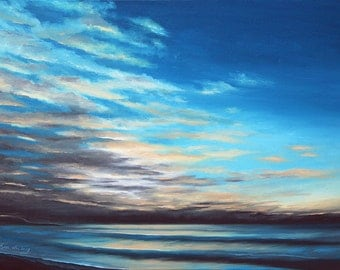 GICLEE Fine Art Reproductions on 8.5x11 PAPER - First Light by Daina Scarola (Dawn, Eastern Shore, Nova Scotia)